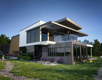 Photorealistic House 3D Visualizations