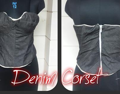 Denim Corset (Essence of Devil)