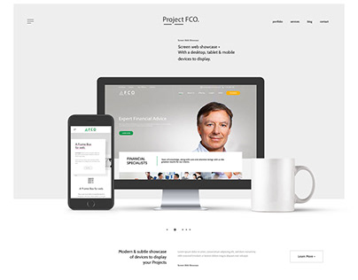 Financial Web Design