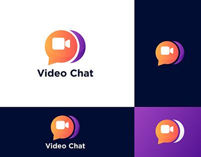 Video Chat Logo Design-brand Identity