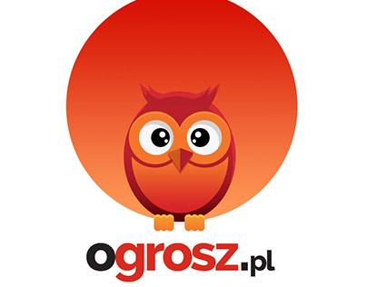 ogrosz.pl - android app, logotype design