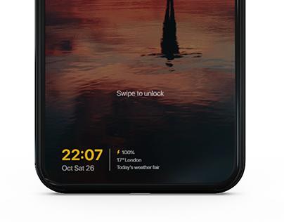 Screen unlock