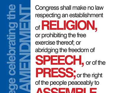 First Amendment Postcard - Illinois College
