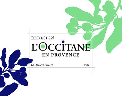 Redesign de rótulos - L'Occitane