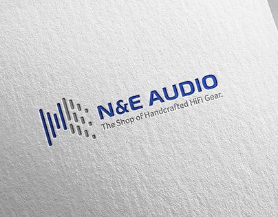 N&E Audio Logo Design