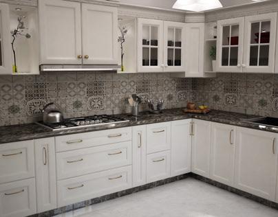 Neo classic kitchen