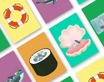 Illustrations (marine pollution)