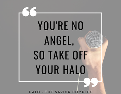 The Savior Complex | Halo Quote