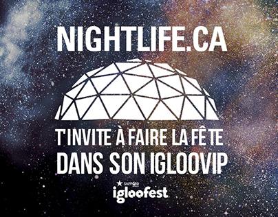 Nightlife - Content illustration - IAB ads