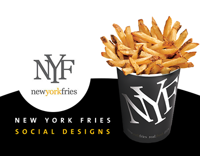 New York Fries - Social Designs