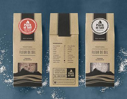 A Pinch of Salt - Packaging