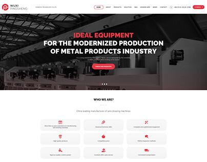 Machine producer website