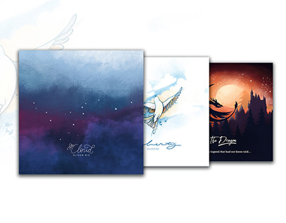 Album covers for Oliver Riz Music