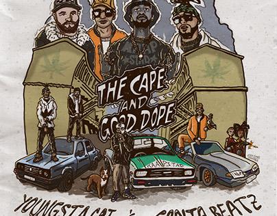 YoungstaCPT x Ganja Beatz - Cape & Good Dope cover art