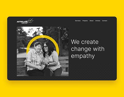Astrolabe Group Rebrand