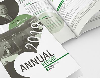 Rapport Annuel: Mise en page