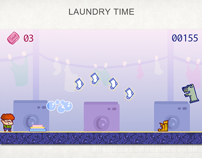 The Laundry Time Game (2nd place in Game Jam)