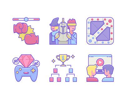 E-Sports Icon Set