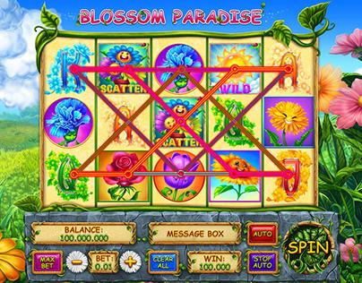 "Online slot machine – ""Blossom Paradise"""
