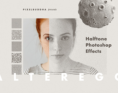 Alter Ego Halftone Photoshop Effect