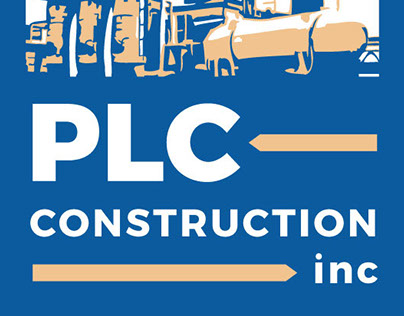 PLC Construction Logo Treatment