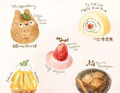 Personal project : Japan food journal