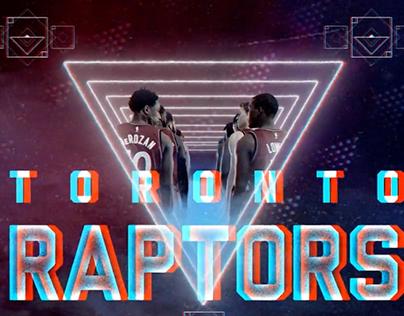 Raptors 3D Opening Video