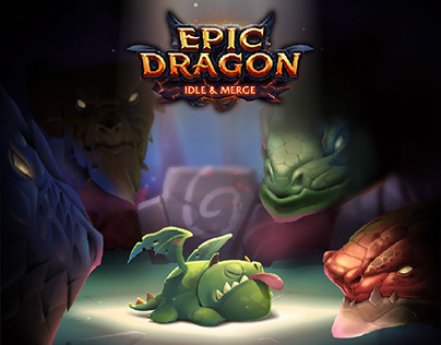 Epic Dragon - Animated Character Design