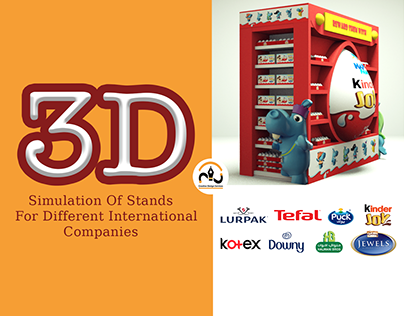 3D Simulation Of Stands For Different International