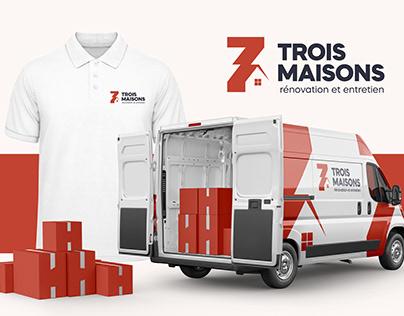 TROIS MAISONS - Brand Identity