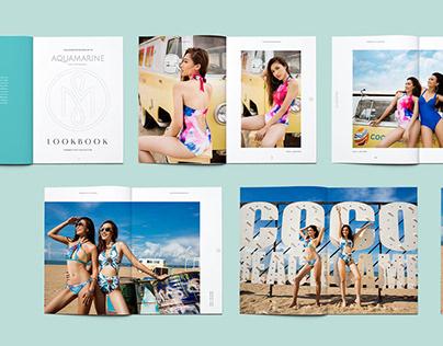 Aquamarine Swimwear Brand Design