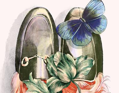 Luxurious Gucci shoe