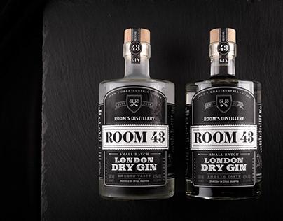 ROOM 43 - London Dry Gin