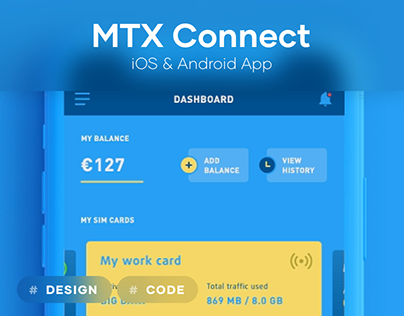 MTX Connect — iOS and Android app retroffited
