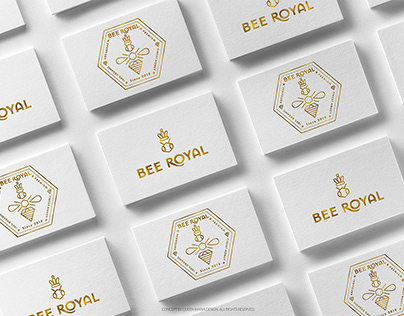 BEE ROYAL | Brand Identity & Packaging
