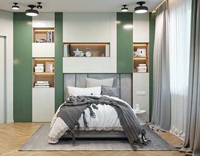 Visualization of children's rooms in Lviv