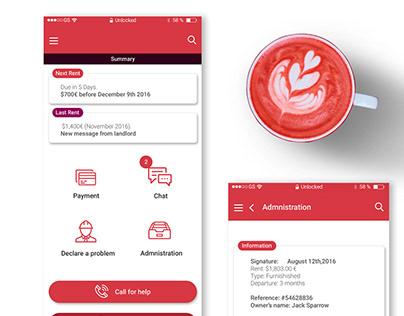 Training-UI/UX Design Mobile app Concept