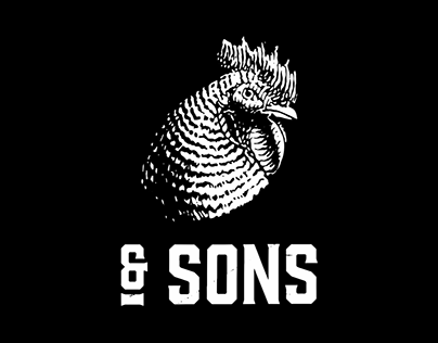 Chicken & Sons Brand identity