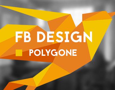 Polygone // Facebook Cover