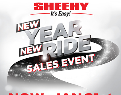 Sheehy's New Year New Ride Sales Event