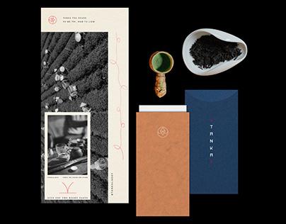 TANKA tea house - Visual identity