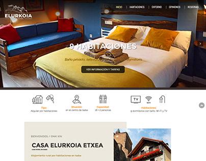 Diseño web para casa rural en Isaba, Navarra