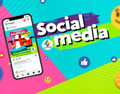 Social Media para Oeste Juegos