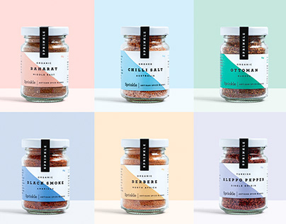 Sprinkle Spices Brand Identity & Packaging