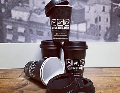 Koffiebekers Korenbloem