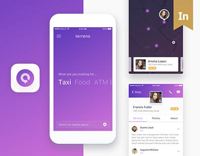 Terreno iOS app
