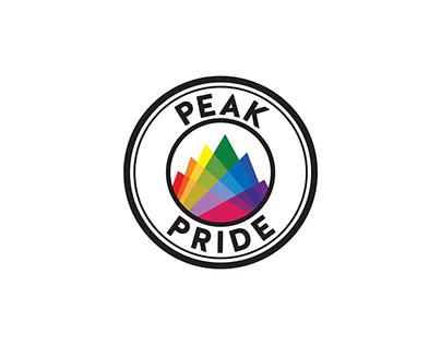 Peak Pride logo project