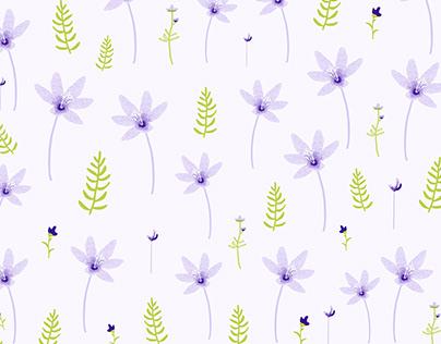 little Wildflower floral Pattern
