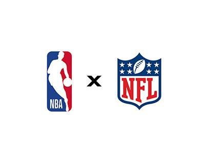 NBA x NFL Design Project