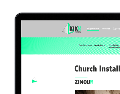 Website Kikk Festival